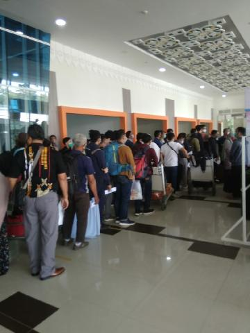 Kondisi Bandara SUltan Syarif Kasim Riau